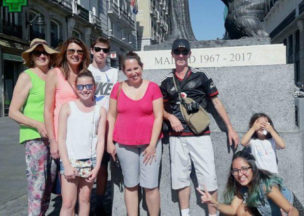 Guia turístico brasileiro em Madrid
