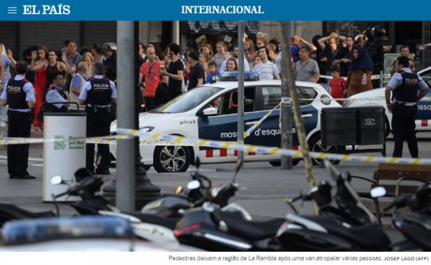 atentado terrorista em barcelona
