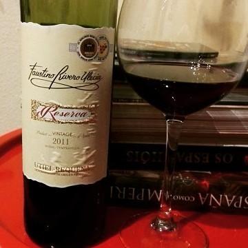 Vinho Espanhol - Faustino Rivero Ulecia – Reserva 2011