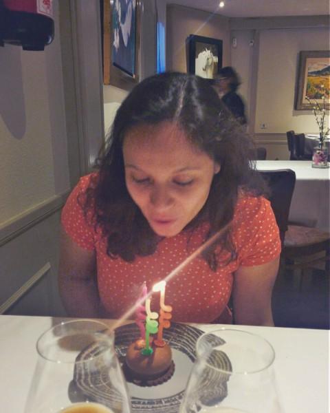aniversário em Barcelona