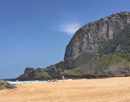 Celebrando o San Juan na praia