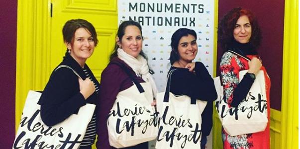blogueiras do BLPM em Paris