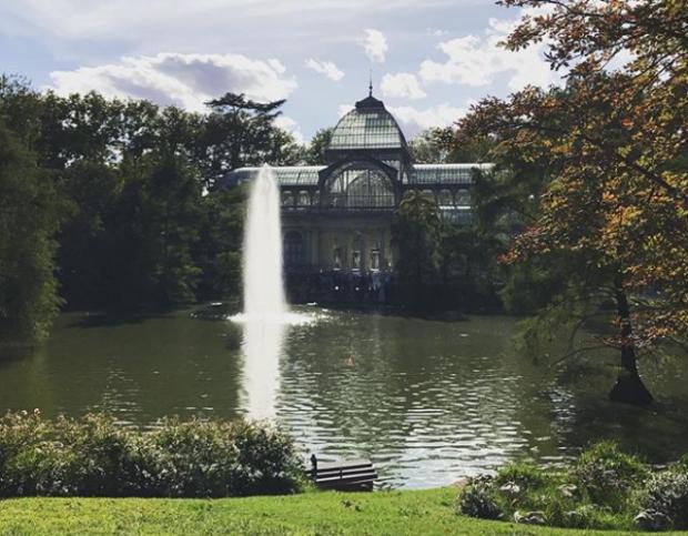 Palacio de Cristal - Parque el retiro - Madrid