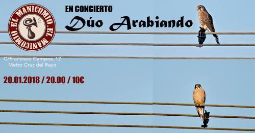 concierto duo arabiando
