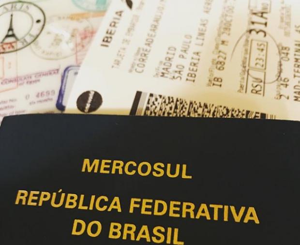 passaporte - visitar madrid