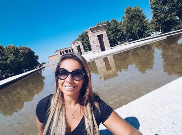 Historia de amor em Madrid da Fenanda Rangel - templo de debod