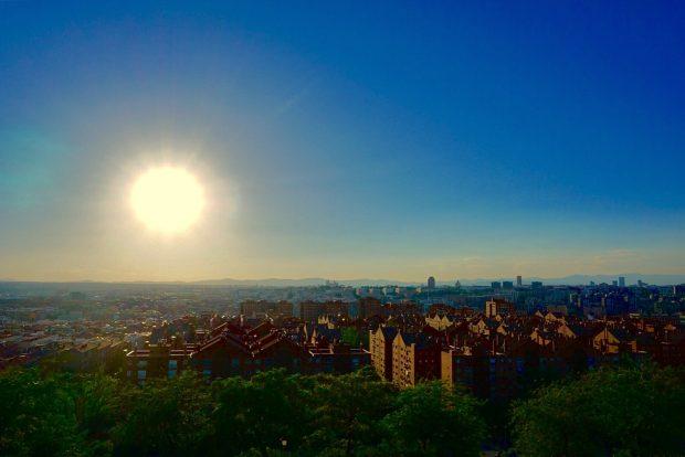 Céu de Madrid - Joana Tiso - Entre tapas y cañas