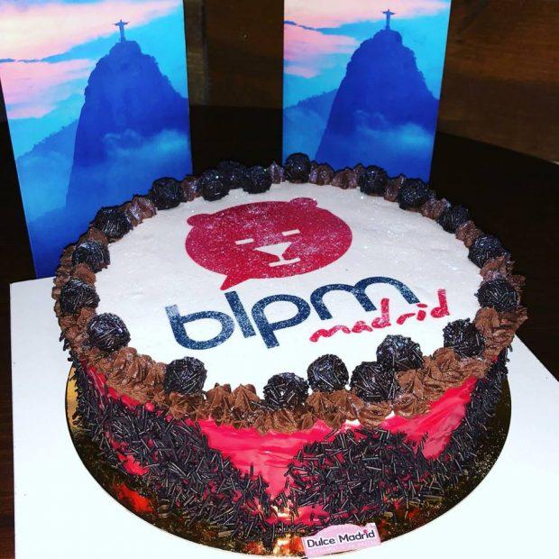 bolo do 3 aniversário do BLPM