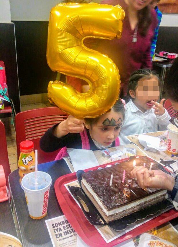 aniversário Burger King Madrid