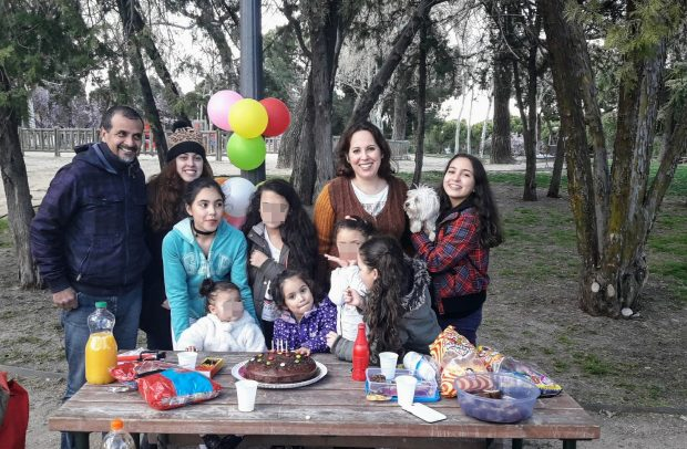aniversário no parque