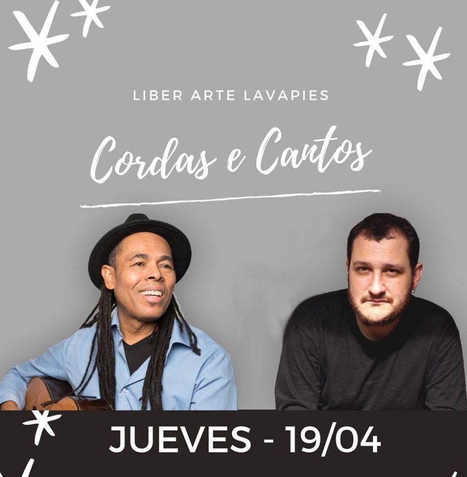 show em Madrid de cordas e cantos