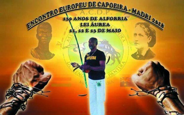 encontro europeu de capoeira em Madrid