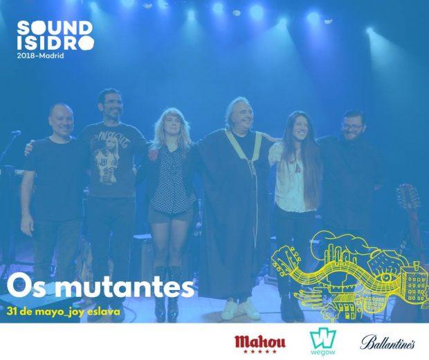 os mutantes em Madrid