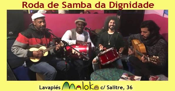 roda de samba maloka