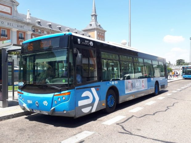 madrid tem ônibus amigáveis
