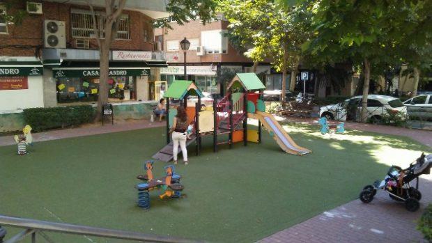 madrid é uma cidade amigavel com parques infantis