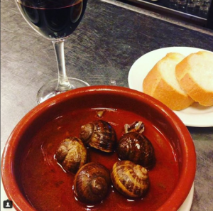 tapas diferentes - caracoles - Casa Amadeo - Los Caracoles Madrid
