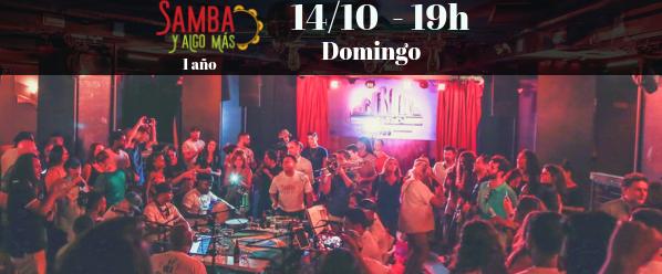 samba e algo mais 14 de outubro madrid