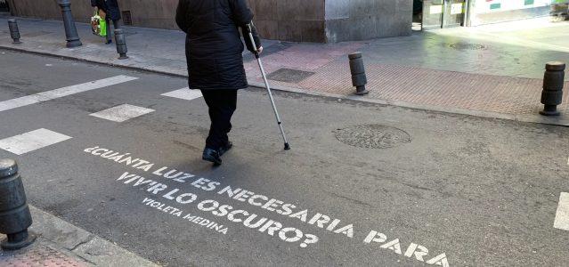 versos al paso: frases poeticas em Madrid