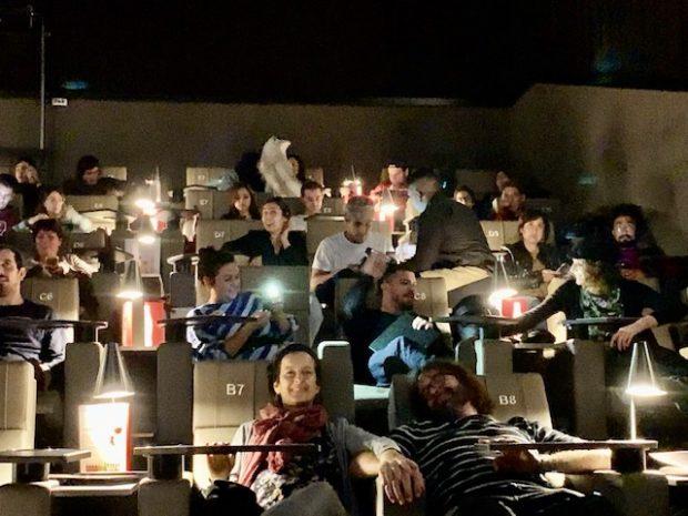Cuidado pra não dormir no Cine Yelmo Luxury Palafox Madrid